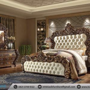 Desain Tempat Tidur Mewah Klasik Eropa