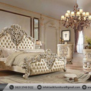 Kamar Set Mewah Klasik Desain Eropa