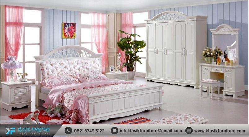 Kamar Set Minimalis Mewah Putih Duco
