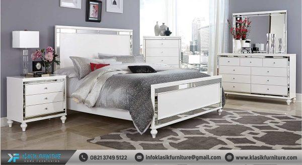Kamar Set Minimalis Putih Elegan