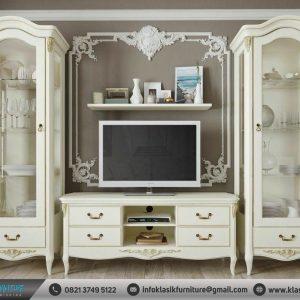 Set Buffet TV Putih Modern