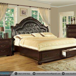 Set Tempat Tidur Klasik Elegant Modern