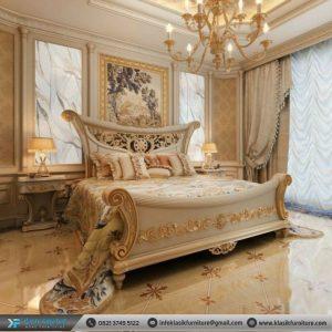 Tempat Tidur Mewah Desain Klasik ModernTempat Tidur Mewah Desain Klasik Modern