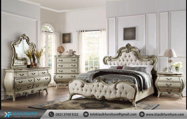 Tempat Tidur Mewah Klasik Elegan
