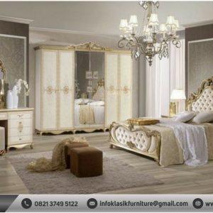 Kamar Set Mewah Modern Gold Klasik